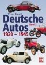 Deutsche Autos, Bd.2, 1920-1945