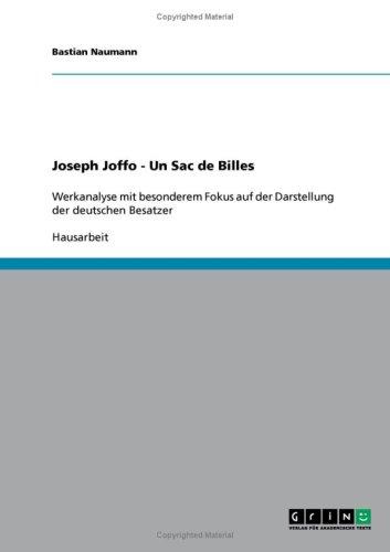 Joseph Joffo - Un Sac de Billes 9783638672320