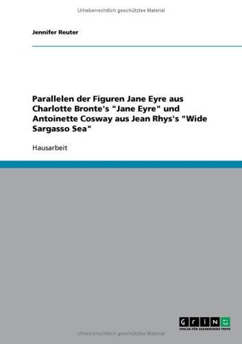 Parallelen Der Figuren Jane Eyre Aus Charlotte Bronte's