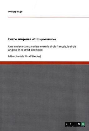 Force Majeure Et Impr Vision 9783638905688