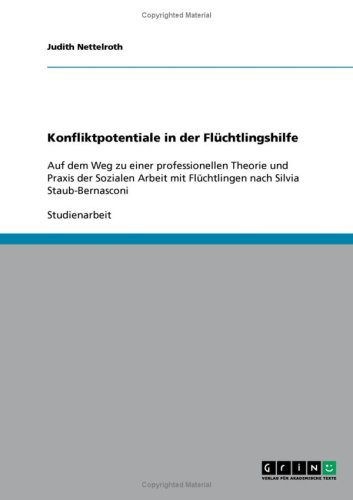 Konfliktpotentiale in Der FL Chtlingshilfe 9783638941129