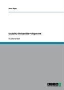Usabilty Driven Development 9783638941532