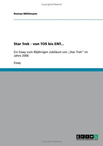 Star Trek - Von Tos Bis Ent... 9783638949644