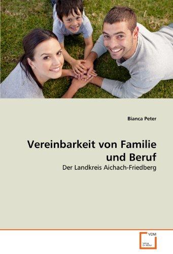 Vereinbarkeit Von Familie Und Beruf 9783639332797