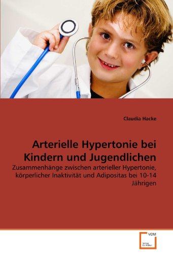 Arterielle Hypertonie Bei Kindern Und Jugendlichen 9783639349757