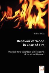 Behavior of Wood in Case of Fire