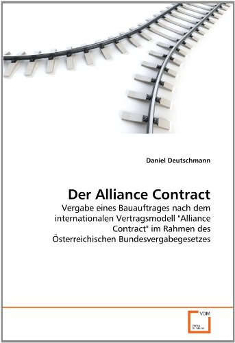 Der Alliance Contract 9783639367621
