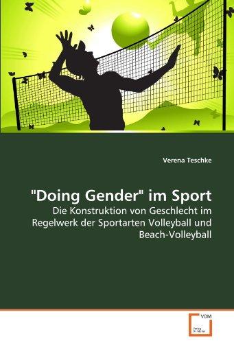 Doing Gender Im Sport 9783639276954