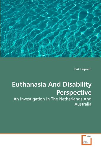 Euthanasia and Disability Perspective 9783639247152