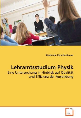 Lehramtsstudium Physik 9783639260076