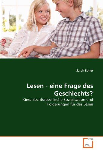 Lesen - Eine Frage Des Geschlechts? 9783639380972