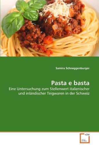 Pasta E Basta 9783639372540