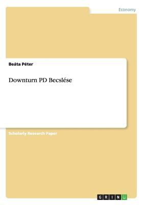 Downturn Pd Becsl Se 9783640183722