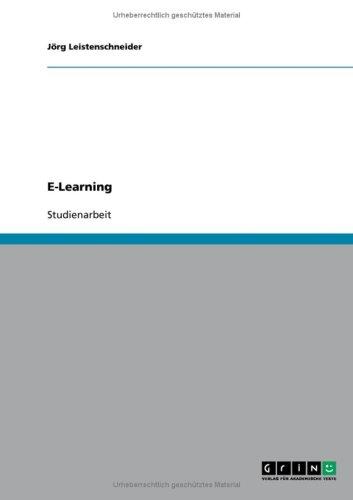 E-Learning 9783640217342