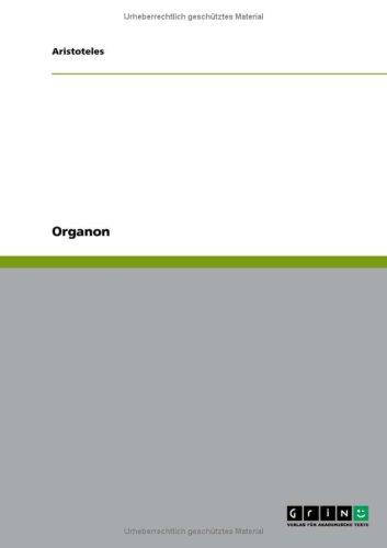 Organon 9783640219070