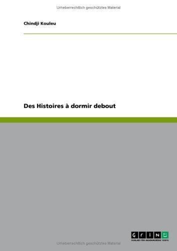 Des Histoires Dormir Debout 9783640234899