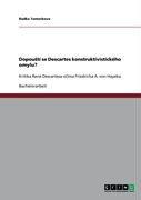 Dopou T Se Descartes Konstruktivistick Ho Omylu?