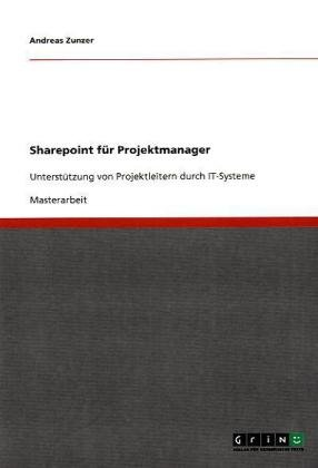 Sharepoint F R Projektmanager 9783640596737