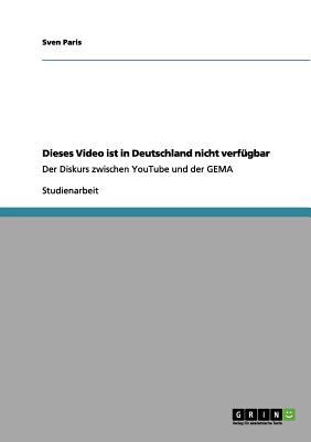 Dieses Video Ist in Deutschland Nicht Verf Gbar 9783640974894