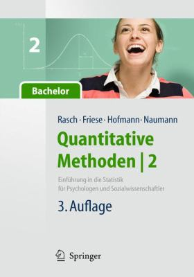 Quantitative Methoden 2. Einf Hrung in Die Statistik F R Psychologen Und Sozialwissenschaftler