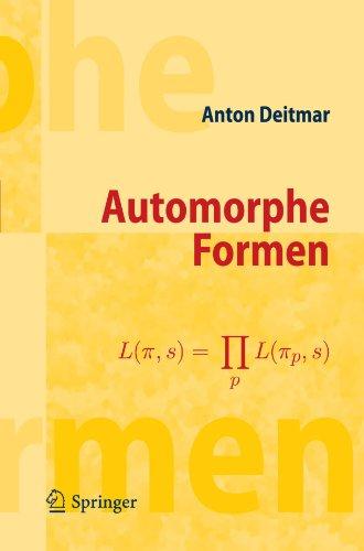Automorphe Formen 9783642123894