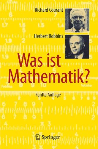 Was Ist Mathematik? 9783642137006