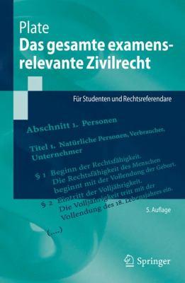 Das Gesamte Examensrelevante Zivilrecht: F R Studenten Und Rechtsreferendare 9783642210068