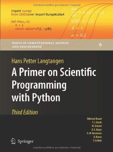 A Primer on Scientific Programming with Python 9783642302923