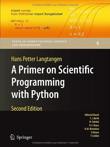 A Primer on Scientific Programming with Python 9783642183652
