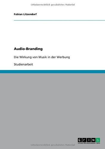 Audio-Branding 9783640573844