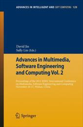 Advances in Multimedia, Software Engineering and Computing Vol.2: Proceedings of the 2011 Mesc International Conference on Multime 16671657