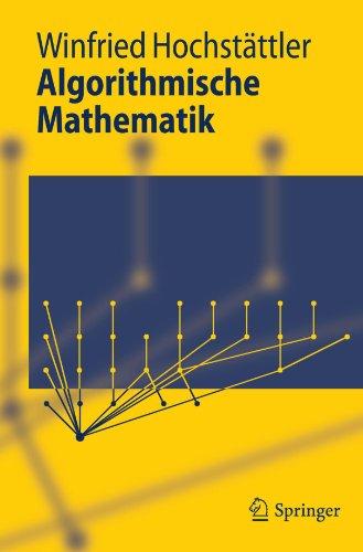 Algorithmische Mathematik 9783642054211