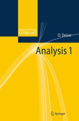 Analysis 1 9783642224584