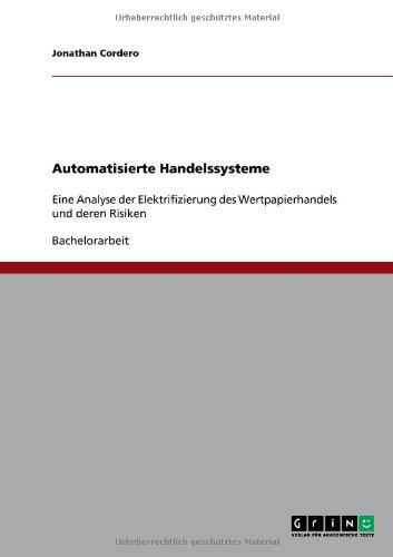 Automatisierte Handelssysteme 9783640630547