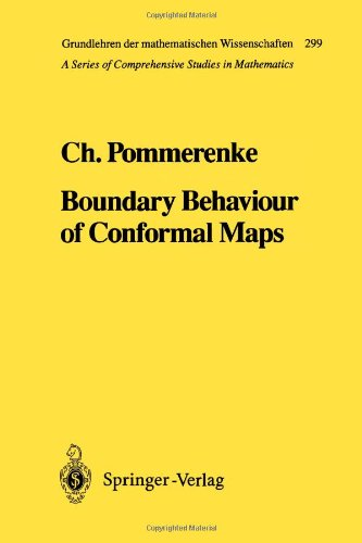 Boundary Behaviour of Conformal Maps 9783642081293