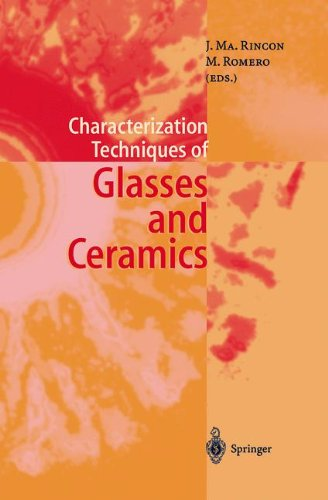 Characterization Techniques of Glasses and Ceramics 9783642083488