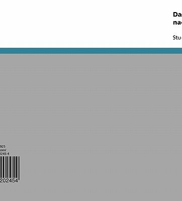Das Konzept Der Somatischen Marker Nach Antonio R. Damasio 9783640202454