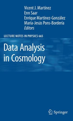Data Analysis in Cosmology 9783642063053