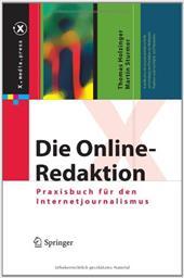 Die Online-Redaktion: Praxisbuch F R Den Internetjournalismus