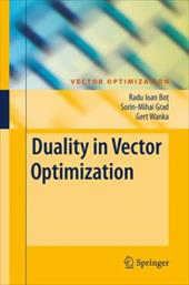 Duality in Vector Optimization 8007194