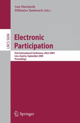 Electronic Participation 9783642037801