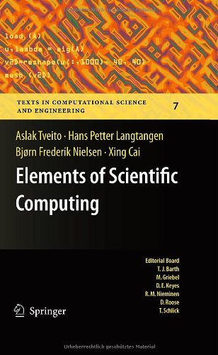 Elements of Scientific Computing 9783642112980