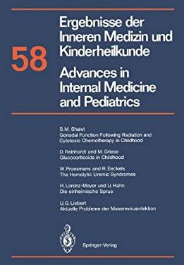 Ergebnisse Der Inneren Medizin Und Kinderheilkunde / Advances in Internal Medicine and Pediatrics 9783642740435