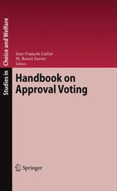 Handbook on Approval Voting 8007179