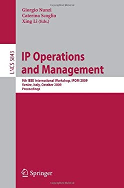 IP Operations and Management 9783642049675