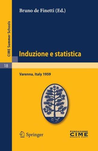 Induzione E Statistica: Varenna, Italy 1959 9783642109317