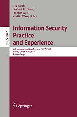 Information Security Practice and Experience 9783642128264