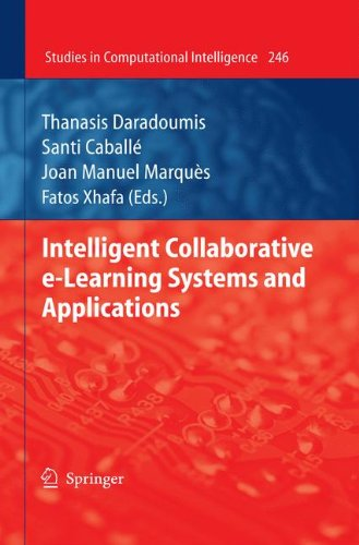 Intelligent Collaborative E-Learning Systems and Applications 9783642040009