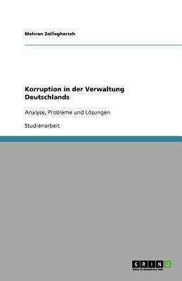 Korruption in Der Verwaltung Deutschlands