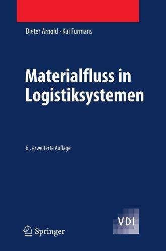 Materialfluss in Logistiksystemen 9783642014048